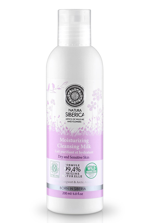21059 Natura Siberica Moisturising Cleansing Milk 200ml