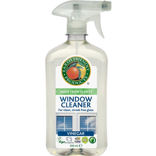 earth friendly products window cleaner vinegar 500