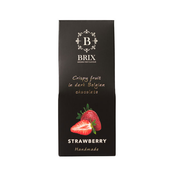 Brix coko strawberry dark handmade